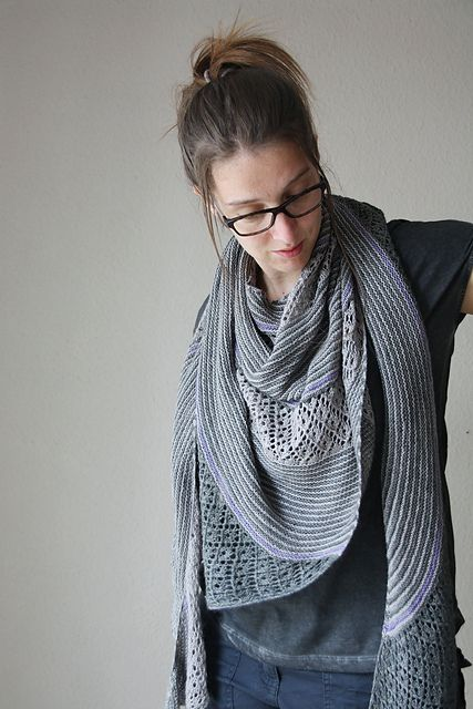 Ravelry: The Miller's Daughter shawl pattern by Melanie Berg
