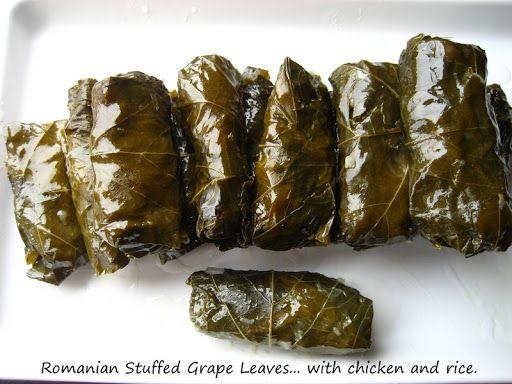 "Home Cooking In Montana: Romanian food - Romanian Stuffed Grape Leaves... ""Sarmalute in Foi de Vita"""