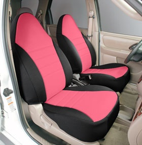 Neoprene Seat covers in Hot Pink!