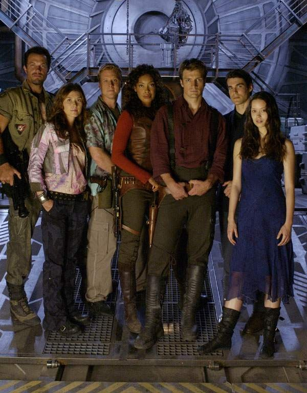 Truly out-nerded myself...David got me hooked.  This is the cast of Firefly.  Actually a good show, cancelled way too soon.