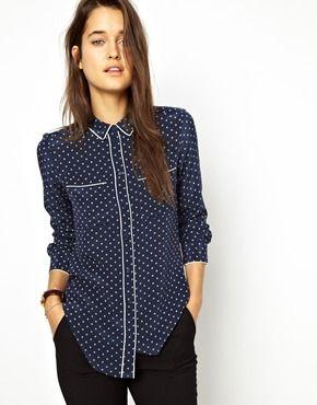 Bild 1 von Jack Wills – Bluse im Pyjamastil