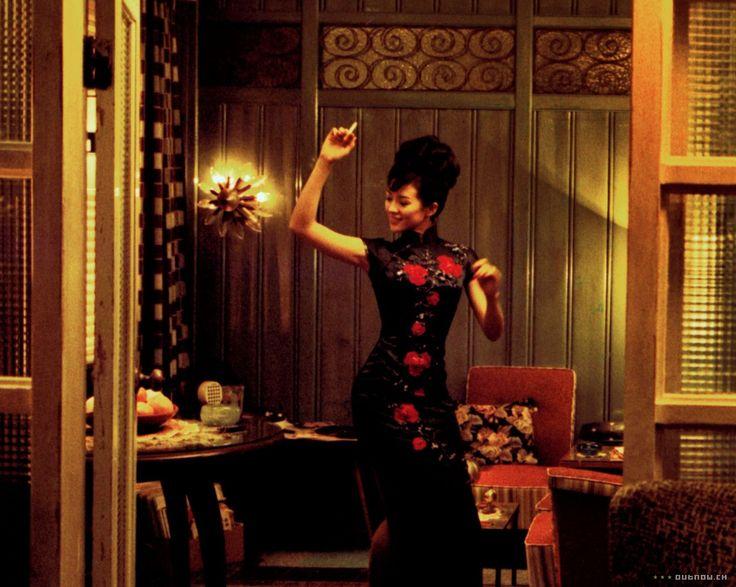 """Zhang Ziyi in """"2046"""" (2004, Wong Kar-Wai)"""