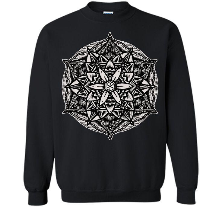 Charming Seal Of Solomon Sacred Geometry Mandala Solid 2017 T Shirt