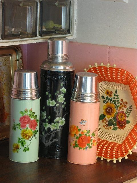 Great vintage thermos grouping