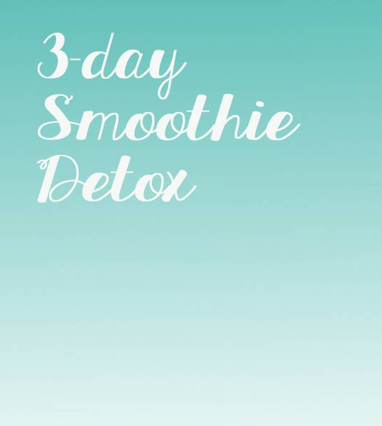"""3 Day Smoothie Detox uhmmm these sound delicious and she also mentions a """"salt wash"""" and I like that she lists the different properties of each ingredient and what they are doing in the body. Doing this!!!"""