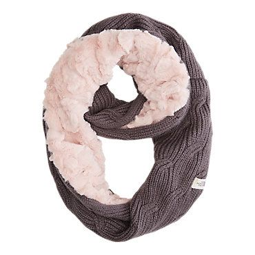 The North Face Girls Furry Scarf: Kids