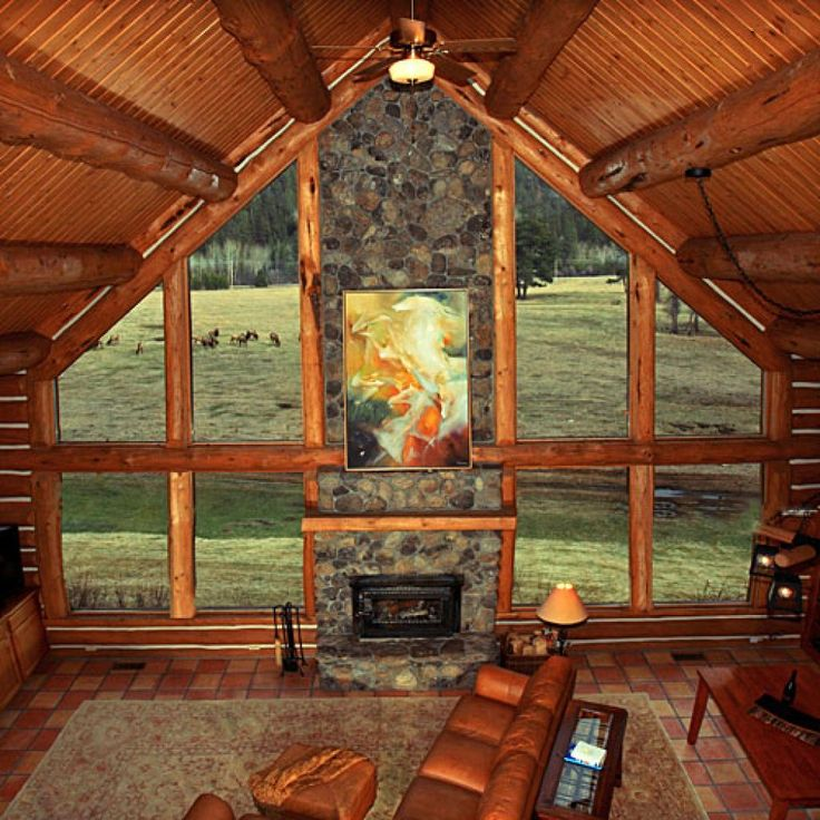 Triple Creek Ranch, Darby, MT  Why it's cozy: Wood-burning fireplaces, cedar walls, whirlpool tubs, king-sized log post beds, and pine forest views from the private decks.  What's out the door: The 600-acre ranch has horseback riding, hiking, snowshoeing, tennis courts, and a heated pool; there's also guided fly-fishing, white-water rafting, and even cattle driving on horseback in the nearby Bitterroot Mountains, Selway-Bitterroot Wilderness, and Salmon River.  Who will love it: Families…