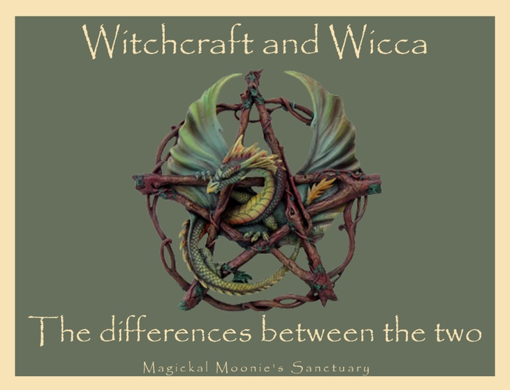 Magickal Moonie's Sanctuary    Witchcraft or Wicca    By Lady Hecate ♥    What is the difference between Witchcraft and Wicca, or, should it be Witchcraft vs. Wicca vs. Paganism. Most Witches are Pagans, but, all Pagans are not Witches. And most importantly, not all Witches are Wiccans. In other words, a Witch who practices Witchcraft does not necessarily mean that she believes in the religion of Wicca. Follow link to read more...