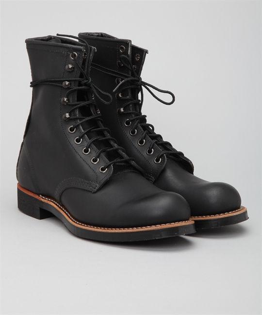 Red Wing Shoes Harvester 2944-Black Harness skor – Skor online - Lester Skor Online