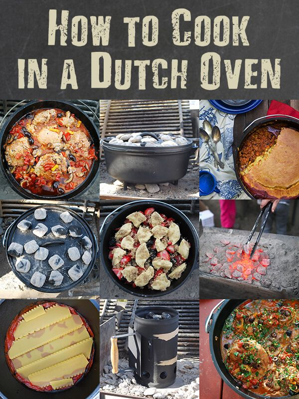 Camp meals will never be the same once you learn How to Cook in a Dutch Oven - by FamilySpice.com