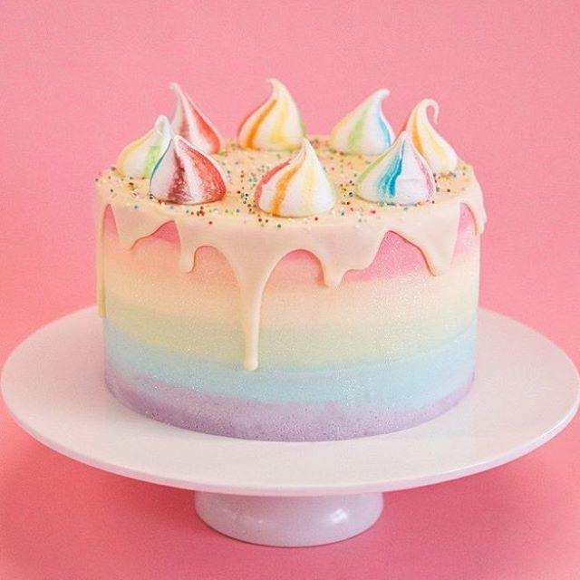 unicorn cake   crumbs and doilies