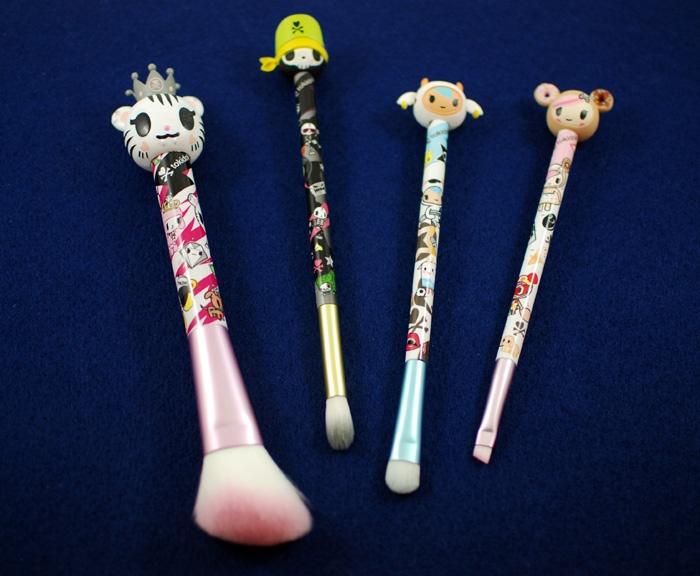 i love my tokidoki brushes - makes putting on makeup cute and fun!