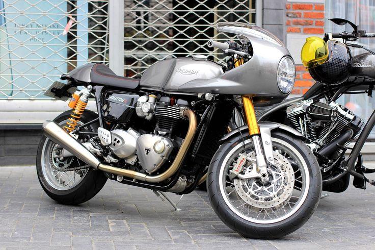 Günün+Motosikleti+|+Triumph+1200+Thruxton+Track+Racer