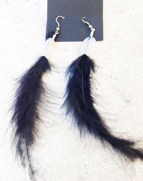 earring plume