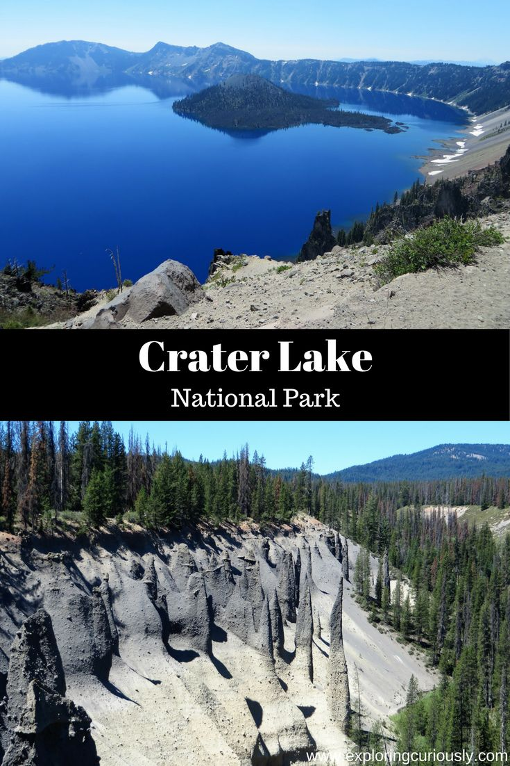 Oregon's Crater Lake National Park is one of the smaller parks in the park system, but what it lacks in size, it makes up for in beauty. This park was formed from a volcano that left a crater behind when it erupted and collapsed in on itself, which later filled with water.
