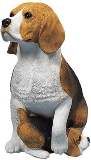 Beagle And Puppy Dog Statue Sculpture These Beagle Dogs Looks So Realistic,  You Might Be Tempted To Give Them A Bone. For Over 25 Years,u2026