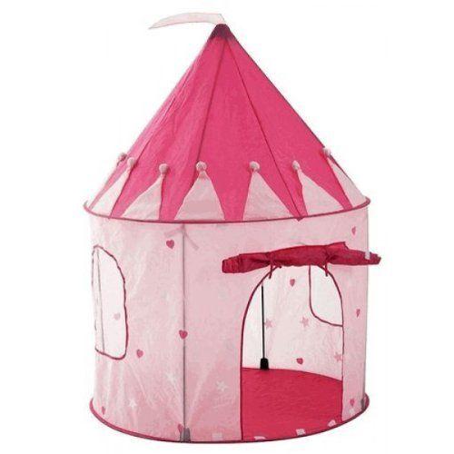 Girl's Pink Princess Castle Play Tent by Pockos - Indoor / Outdoor Pockos,http://www.amazon.com/dp/B002SQW38Q/ref=cm_sw_r_pi_dp_aVOGtb1W2JMC1C4J  $28.09
