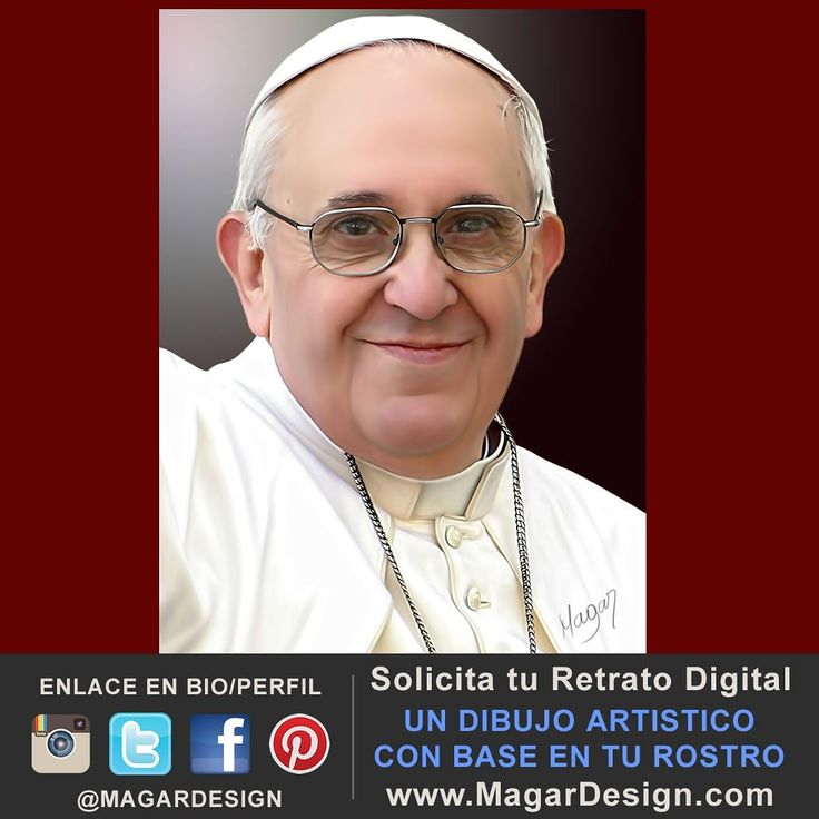 El Papa Francisco un emisario de la Paz. Compártelo si te gusta.  #papa #papafrancisco #vaticano #catolicos #iglesiacatolica #magardesign #juliocesarmartinez #dibujo #rostrodigital #fotografiadigital #artedigital #pinturadigital #retratodigital #retratosartisticos #diseñodigital #catolicosenelmundo