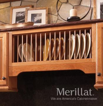 Wall Open Shelf Plate Rack Classic Accessories