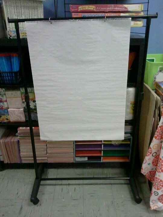 Design Of Classroom Charts ~ Clothes rack from dollar general used as a chart