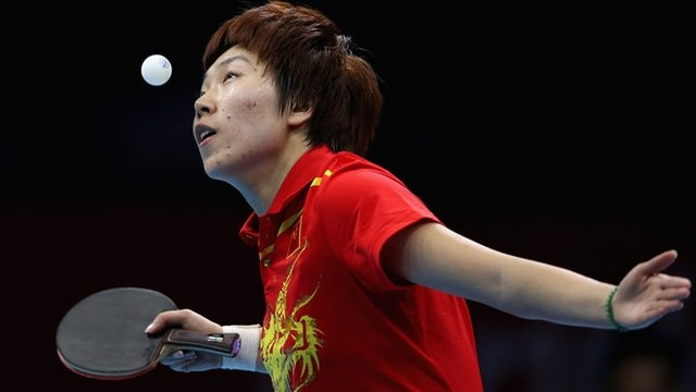 http://www.MilitaryGradeNutritionals.com/blog  Li Xiaoxia continued China's table tennis dominance by winning Olympic gold with a 4-1 victory over compatriot Ding Ning in the women's singles final.