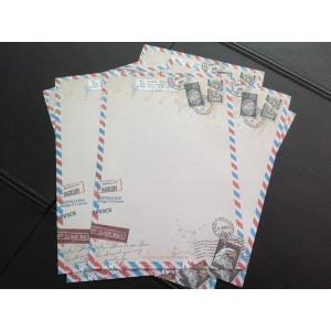 Briefpapier Vintage Airmail
