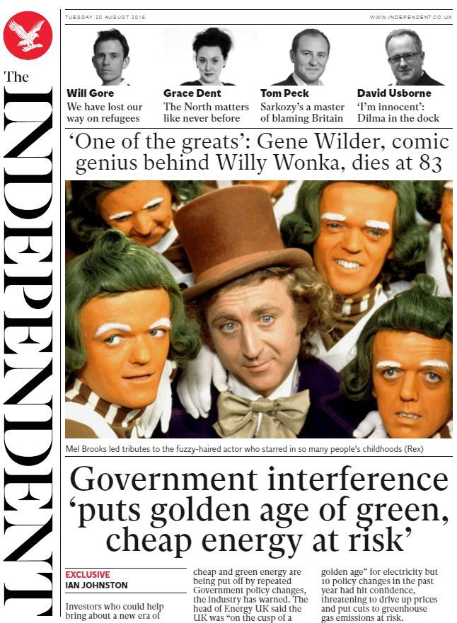 The Independent (UPDATE)