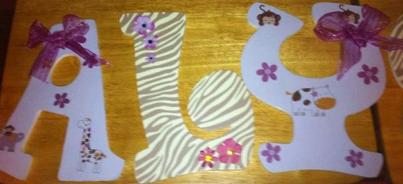 130 best Wood Wall Letters, Brooches or Lampshade decorations images ...