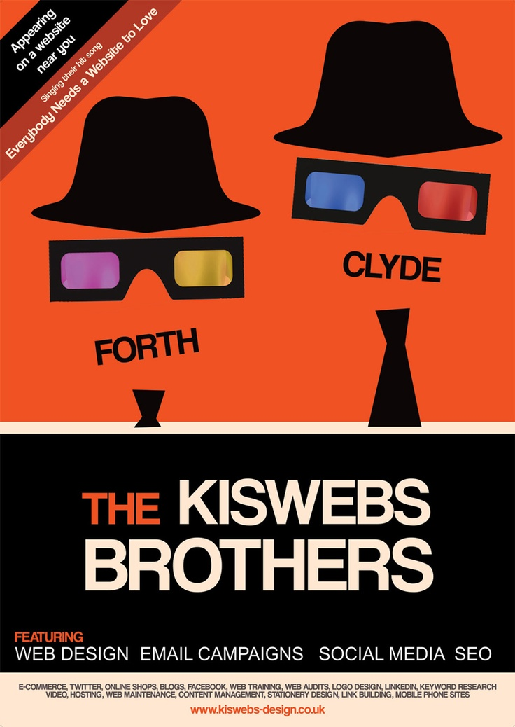 Lose your blues brothers and engage with the Kiswebs Brothers