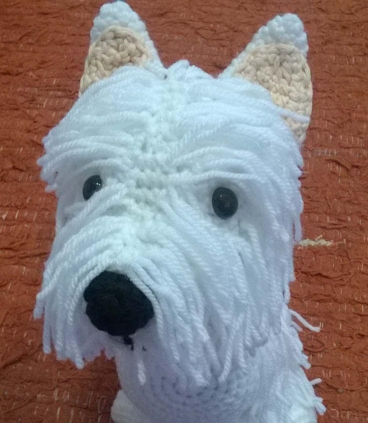 westy perro crochet | Mi Kilombo | Muñecos de ganchillo ...