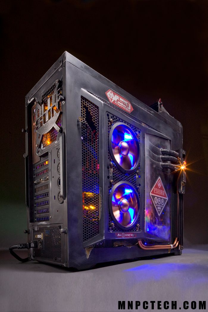 """Corsair 400 Case Mod Project: """"Tribute to SERENITY firefly series"""""""