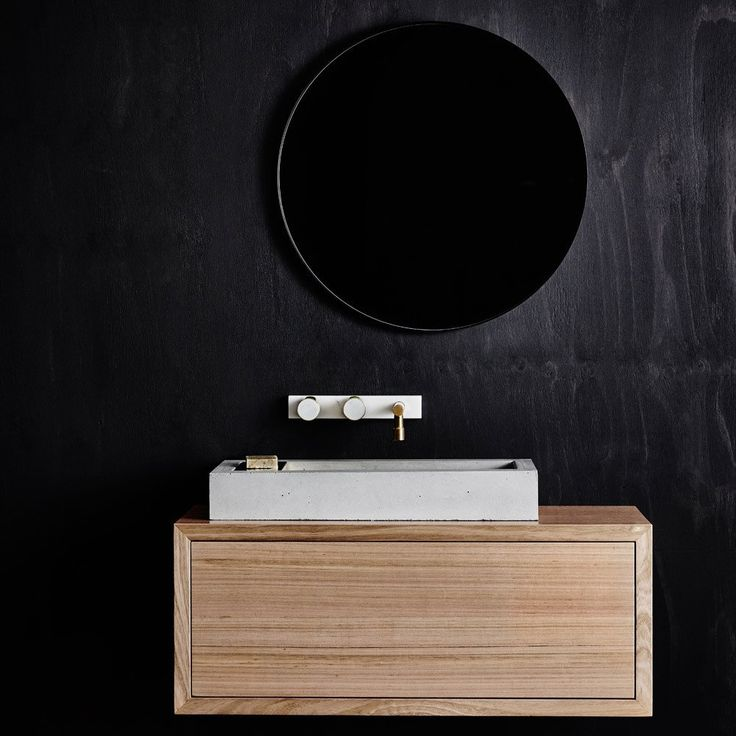 Aphra wall-hung vanity unit – Wood Melbourne