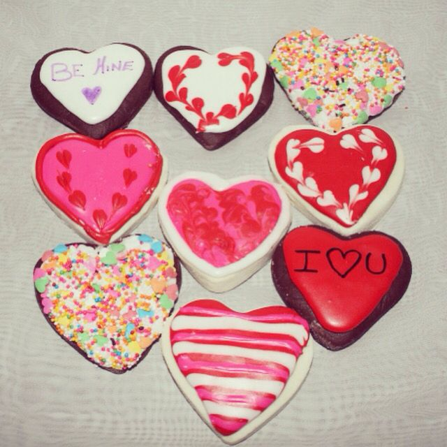 Valentine's Bubbling Bath Cookies.. Available at Etsy.ca/shop/Neveska