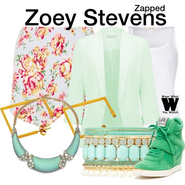 Inspired by Zendaya as Zoey Stevens in the 2014 Disney channel movie Zapped.