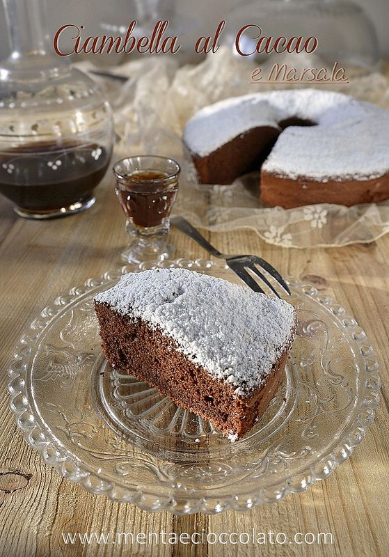 Menta e Cioccolato: Ciambella sofficissima al Cacao e Marsala! O chiamiamola Chiffon Cake!