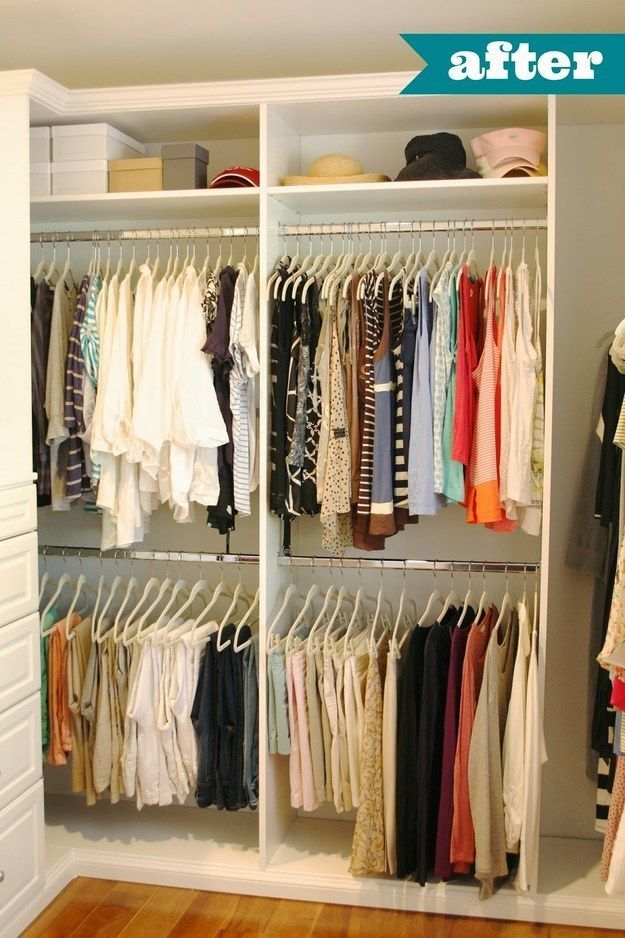1000 images about walk in closet remodel on pinterest for How to organize your walk in closet