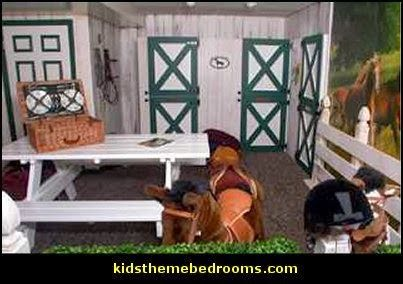 outdoors theme bedroom decorating ideas-horse theme bedroom ideas
