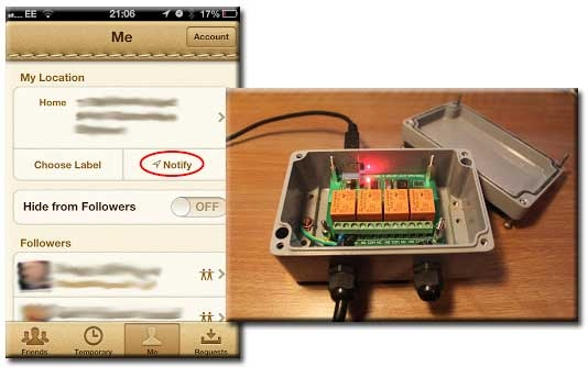Hack Your Heating Using An Iphone Geofence  Pinterest Geo