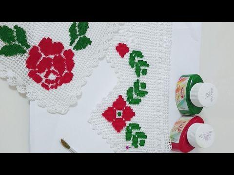 Dantel boyama tekniği - YouTube