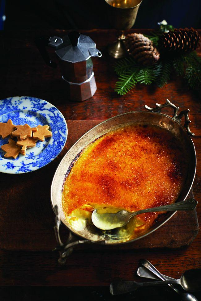 Comment renouveler la traditionnelle crème brûlée? En y intégrant du sirop d'érable!