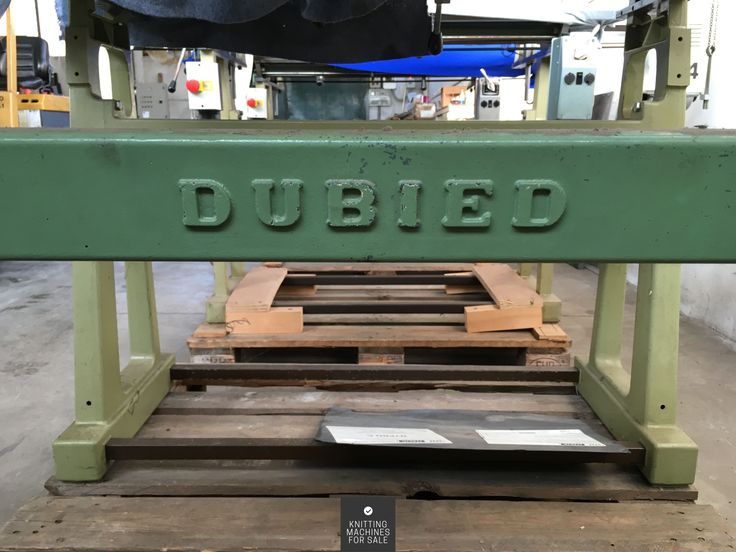 Vintage Dubied Knitting Machine For Sale http://www.knittingmachinesforsale.com/vintage-dubied-knitting-machine/