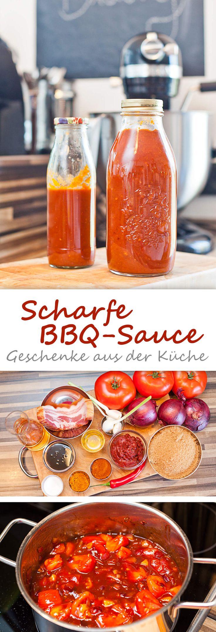 Scharfe BBQ-Sauce {grundrezept}