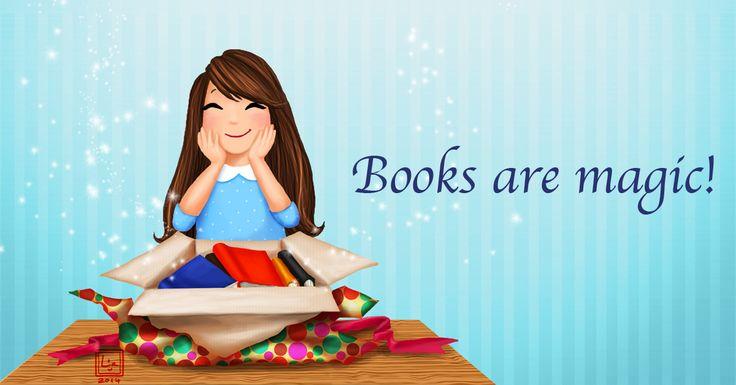 Books are Magic!