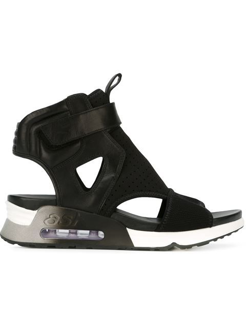ASH 'Legend' Velcro Fastening Hi-Top Sneaker Sandals. #ash #shoes #sandals