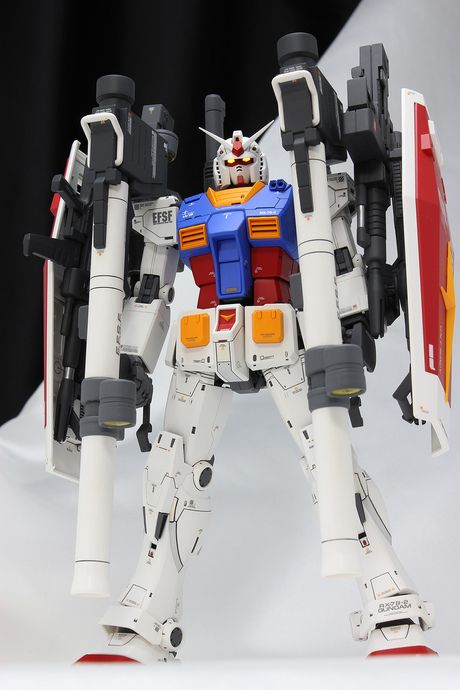 MG Gundam THE ORIGIN