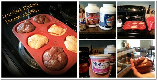 protmuffcol2 thumb Low Carb Protein Powder Muffins {Recipe}