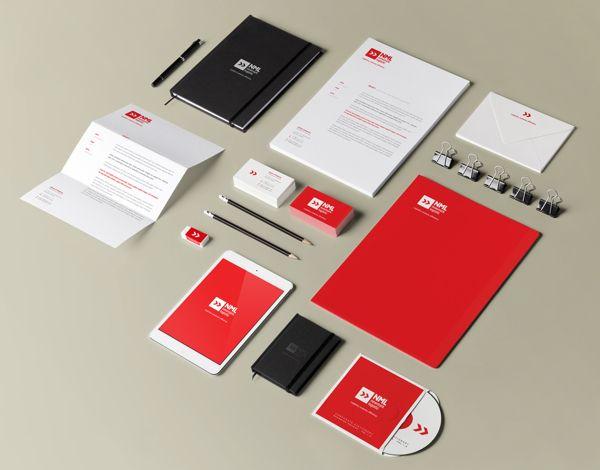 Branding // NML // Newmark Logistic by Maurizio Pagnozzi, via Behance