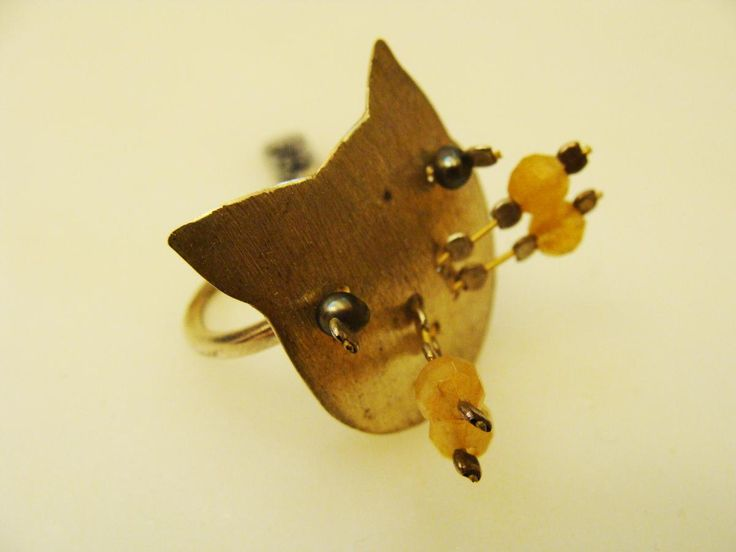 Handmade Silver 925 Ring- Cat collection!