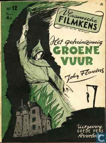 Boeken - Kremer, Jean Raymond de - Het geheimzinnig groene vuur