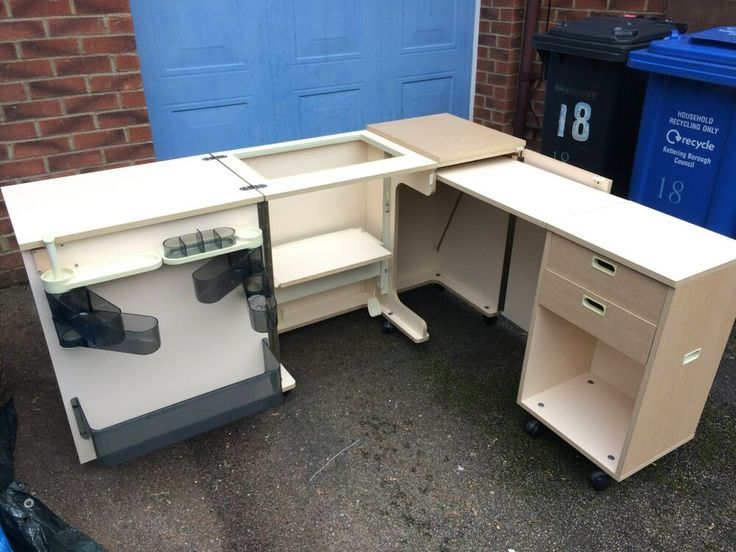 The Super Duo Horn Sewing Machine Cabinet (L-SHAPED ...
